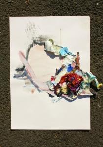Unstuck, Mixed media, 2013