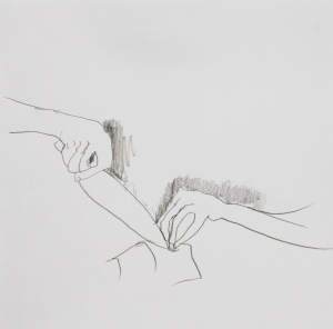 Make #2, Graphite on paper, 2013
