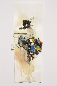 Shelf Life, Mixed media on paper, 2013