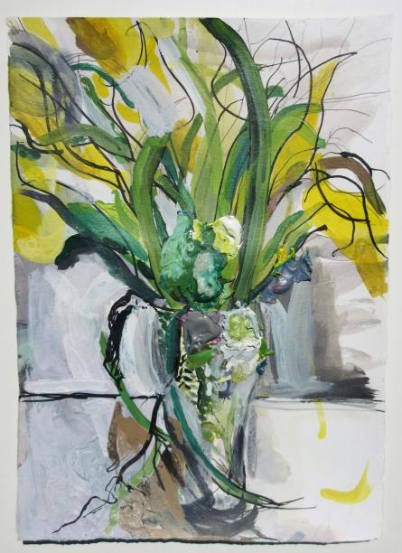 Tulips (Yellow) 30cm x 22cm