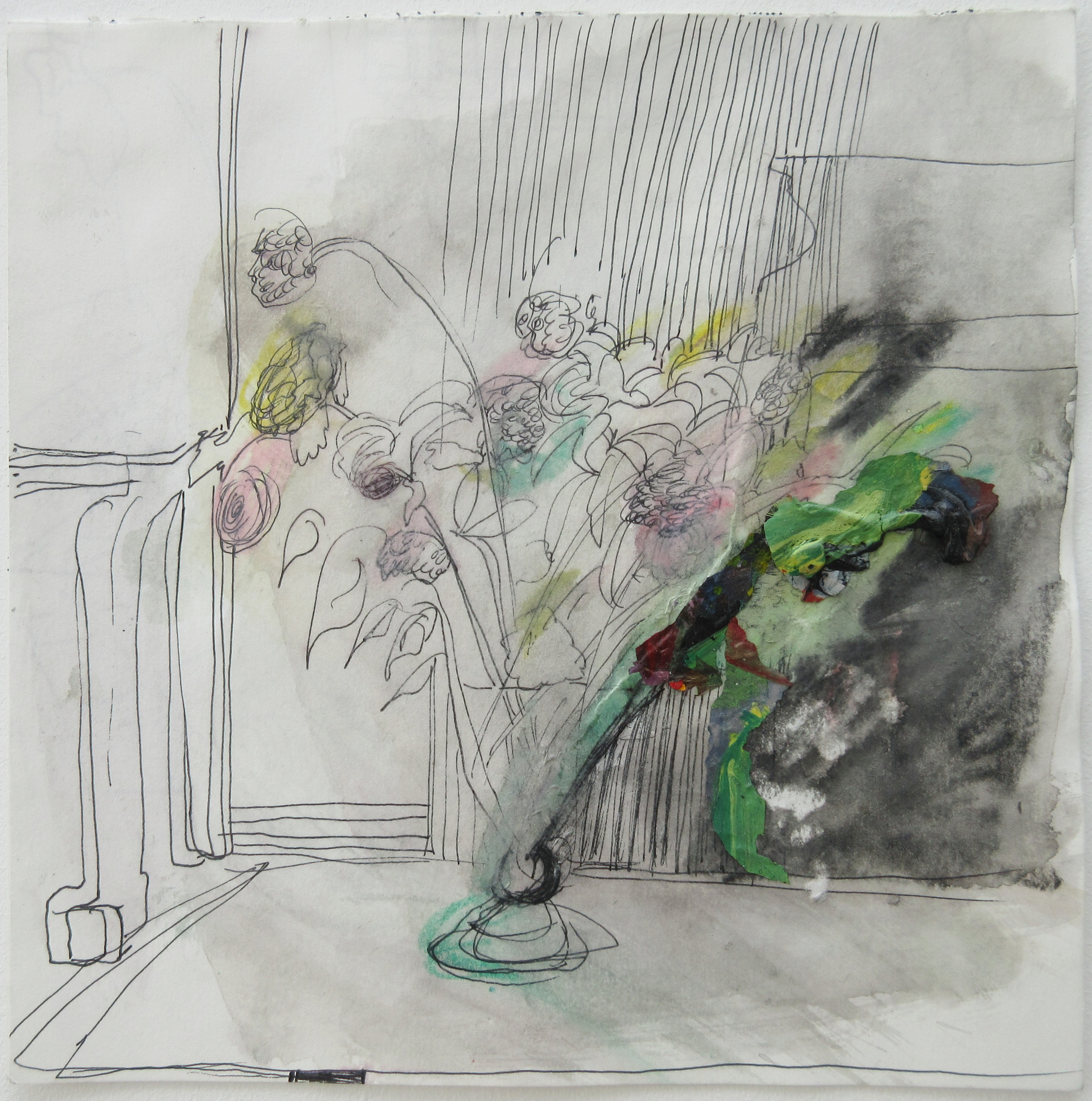 A Vase with Roses, 2019